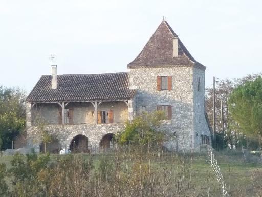 photos touristiques - Vergt-de-Biron - Maison à bolet