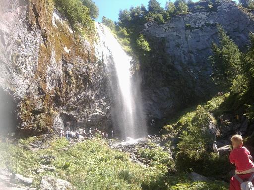 photos touristiques le mont dore la grande cascade