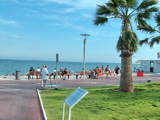 Photos touristiques cagnes sur mer bord de mer for Garage de la plage cagnes sur mer